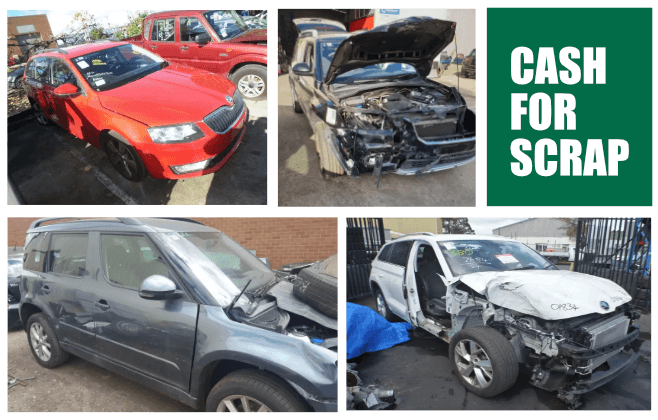 Skoda Wreckers Keysborough Melbourne Scrap Car Buyers